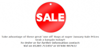 Sale items, while stocks last