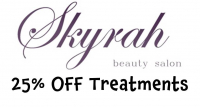 25% off treatments at Skyrah Beauty in Epsom @Skyrahbeauty