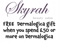 FREE  Dermalogica gift when you spend £50 or more on Dermalogica at Skyrah @Skyrahbeauty