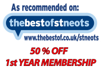 BEST OF ST NEOTS 50% DISCOUNT - 1ST YEAR