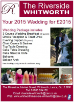 2015 WEDDING PACKAGE JUST £2015