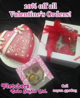 10% OFF ALL VALENTINE'S ORDERS