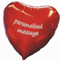 Personalised Valentines balloon Offer.