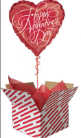 Balloon in a Box for Valentines.