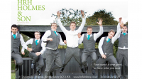 10% off Wedding Suit Hire