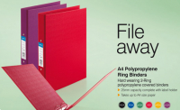 70% OFF Ring Binder Files - Great for Your Home or Work Office!