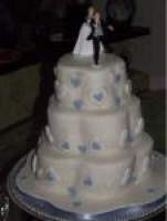 Free Delivery, Stand & Knife with Wedding Cakes