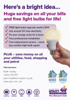 Free LED Lightbulbs for your home