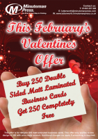 This February's Valentine's Offer