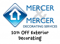 10% OFF Exterior Decorating with Mercer & Mercer @MercerMercerUK