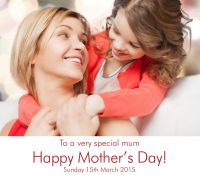 Mother's Day at Holiday Inn Kingston South