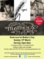 Mothers Day at Epi Restaurant