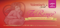 The Romeo - Normally this hour long face treatment would cost £50, but for Valentine's pay just £25, saving 50%