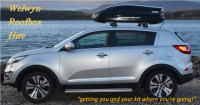 10% discount on summer car roof box hire from Welwyn Roofbox if booked by 28th February
