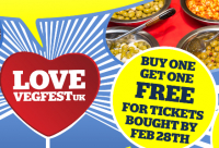 Vegfest Brighton 241 Ticket Offer