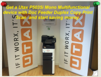 Mono Multi-Function Printer - £25* per month