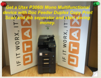 Mono Multi-Function Printer - £35* per month