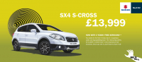 SX4 S-CROSS - £13,999