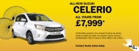 ALL-NEW SUZUKI CELERIO - FROM £7,999