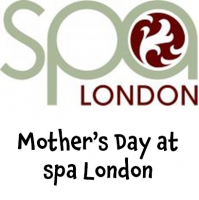 Mother's Day Package for two at spa LONDON @spalondon