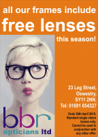All frames with FREE LENSES at BBR