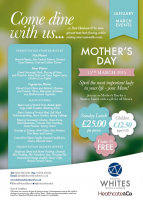 Free gift for all mums for Sunday Lunch