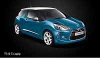 CITROEN DS3 DSTYLE JUST £239 PER MONTH