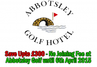 Save Upto £300 - No Joining Fee at Abbotsley Golf  until 6th April 2015