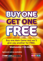 Buy One Get One FREE!