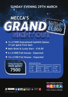 Mecca's Grand Night Out!