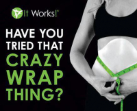 'It Works' Wrap - just £20