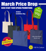 100 branded bags at 99p each*
