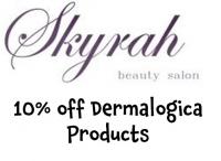 10% off Dermalogica products at Skyrah Beauty @SkyrahBeauty