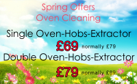 Spring Clean your ovens