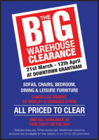 Big Warehouse Clearance Sale