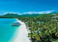 SAVE £2,266 PER COUPLE - 7 NIGHTS ALL INCLUSIVE IN ST LUCIA