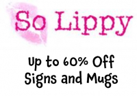 Up to 60% Off Signs and Mugs at So Lippy @So_Lippy