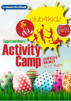 Eggstraordinary Activity Camp only £12 per child