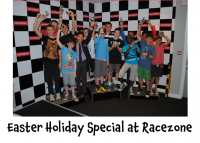 Easter Holiday Special - 10% Discount on Kids and Teens Parties @RacezoneGo