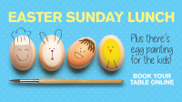 FREE EGG PAINTING WITH EACH MEAL