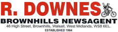 R. Downes Brownhills Newsagent