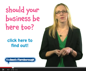 Local Businesses in Aldershot and Farnborough