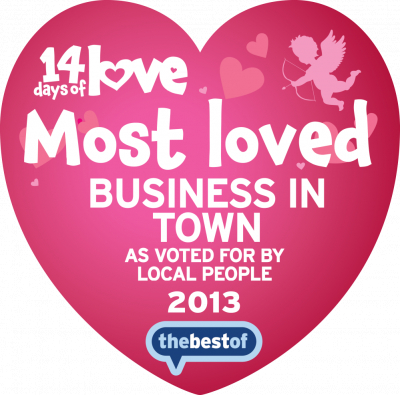 Best loved Business (In Place) 2013