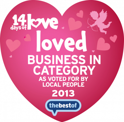 Best loved Business (In Category) 2013