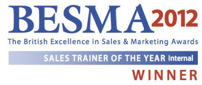 BESMA Sales Trainer of the Year Award 2012