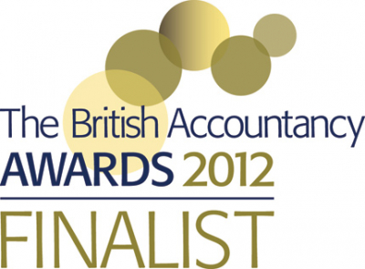 British Accountancy Awards Finalist 2012