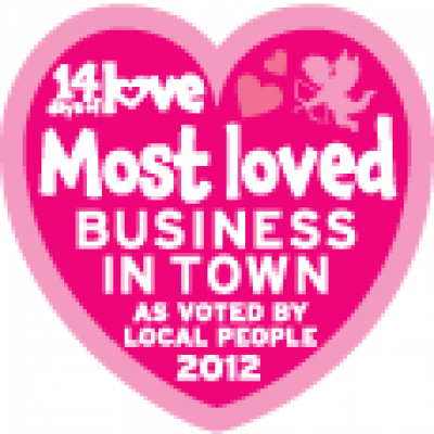 Best loved Business (In Place) 2012