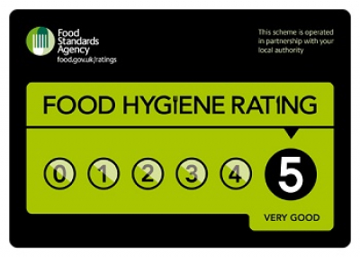 5 Stars Food Safety Award