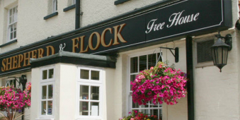 Romantic, stress free Valentine dinner at The Shepherd and Flock Farnham