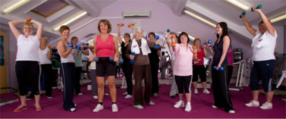 Ladies Workout Express, Swinton; Halloween fun at Zumba!